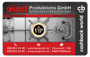 GSB Produktions GmbH Cashback Card
