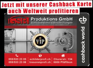Cashback Card GSB Produktions GmbH